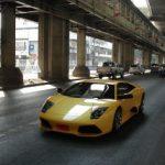 Cool Lamborghini on the main road