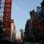 Driving through China Town