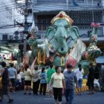 The Giant Ganesh on the street!