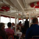 On the ferry up the Chao Phraya river