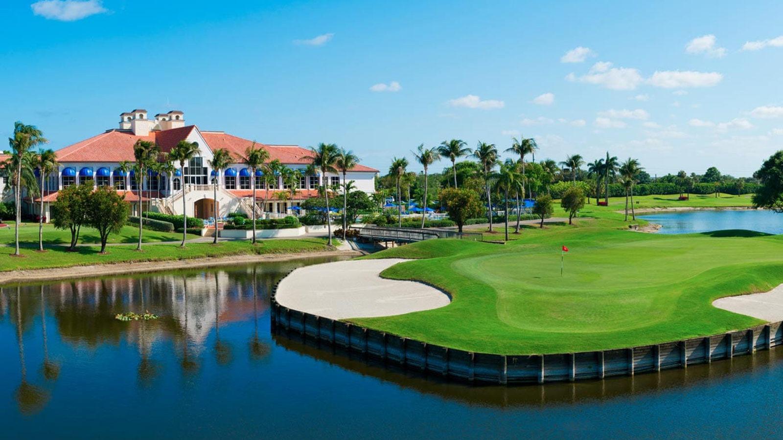 Boca Resort golf-Florida