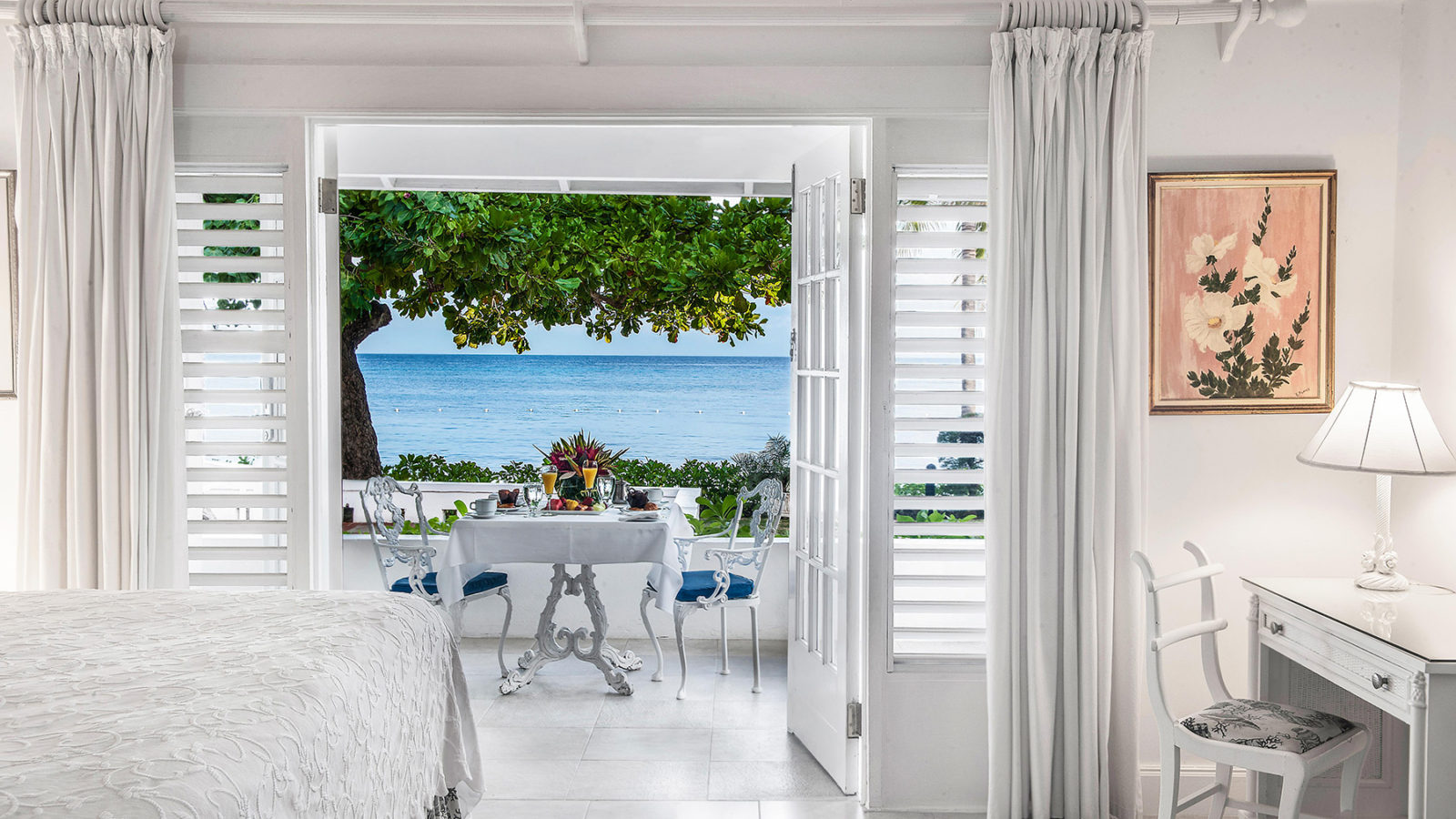 Half Moon Jamaica-room view out to sea