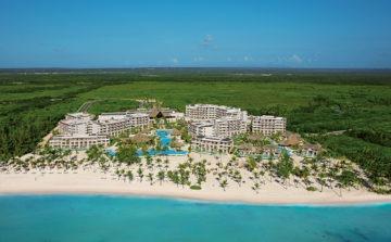 Secrets Cap Cana Golf Resort 2-aerial view of resort