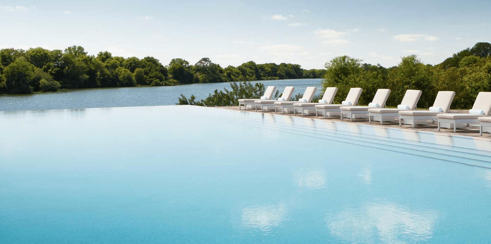 Streamsong Resort infinity pool