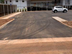 Projects RAAF Mess Carpark 1