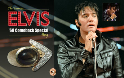 The Famous '68 Comeback Special Ring from The King's Ransom Museum: Personal Treasures of Elvis Presley