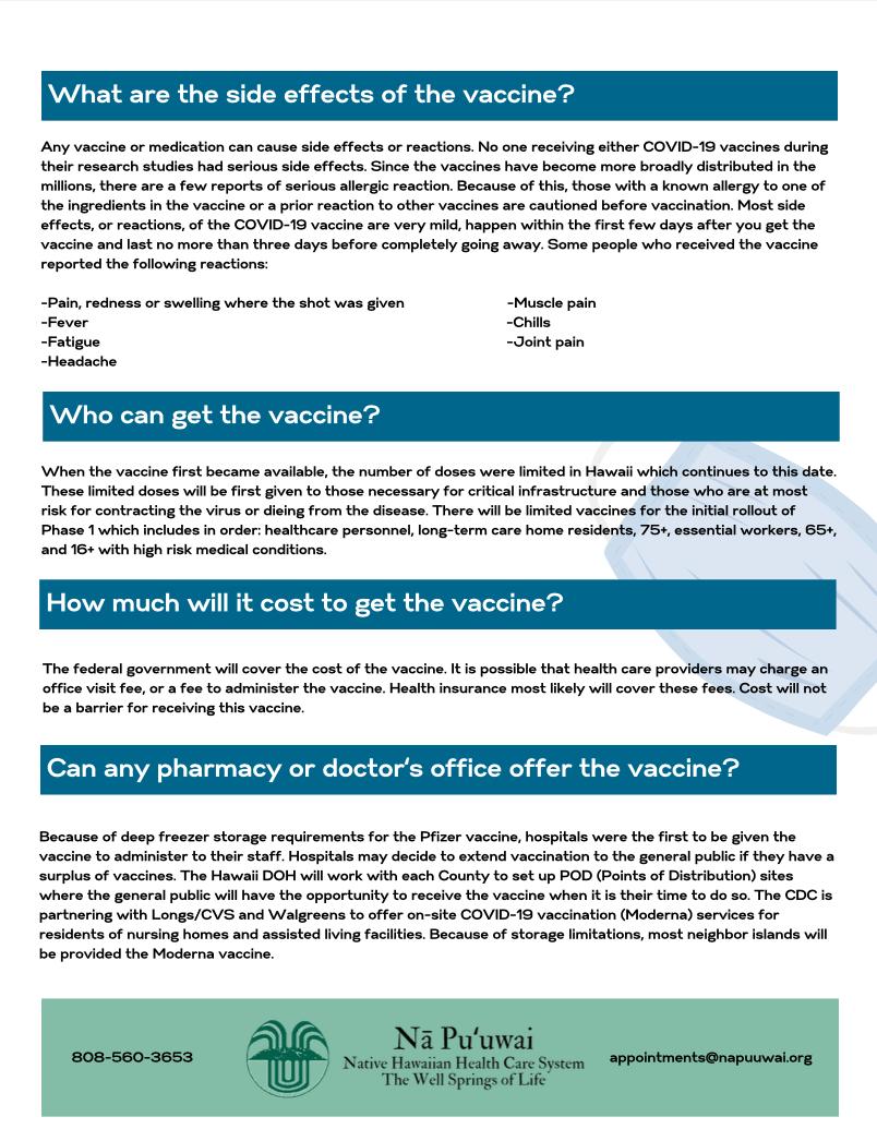 COVID-19 Vaccine FAQ 2
