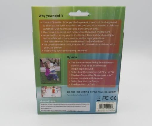 Child Locator & Advanced Alert System (Back)