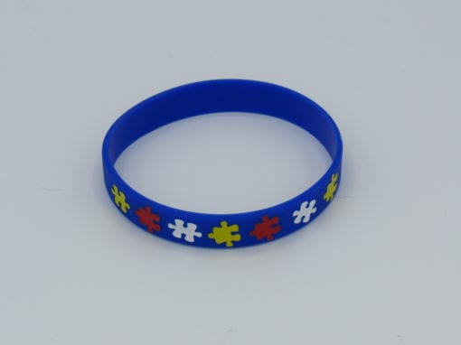 Autism Awareness Wristband back