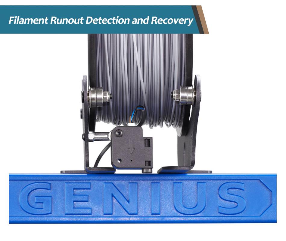 Artillery Genius Filament Runout Detection
