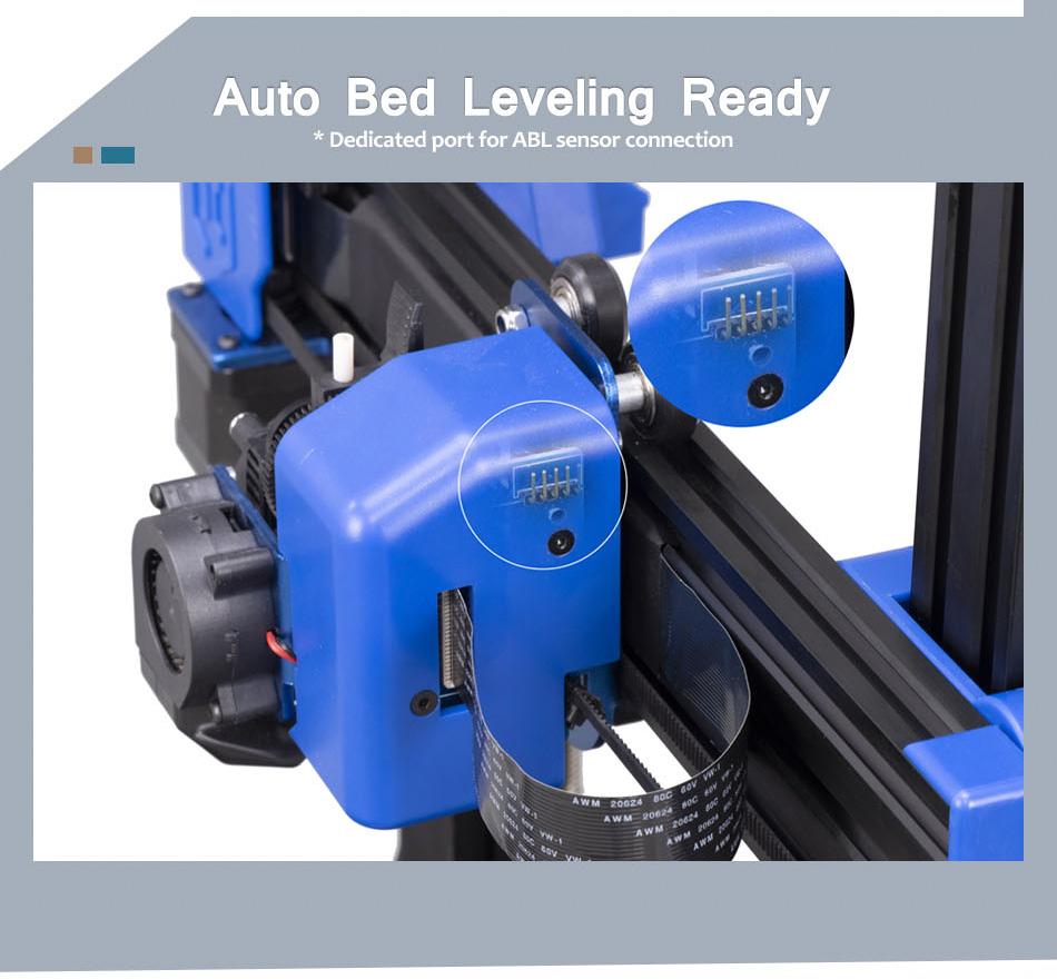 Artillery Genius Auto Bed Leveling Ready