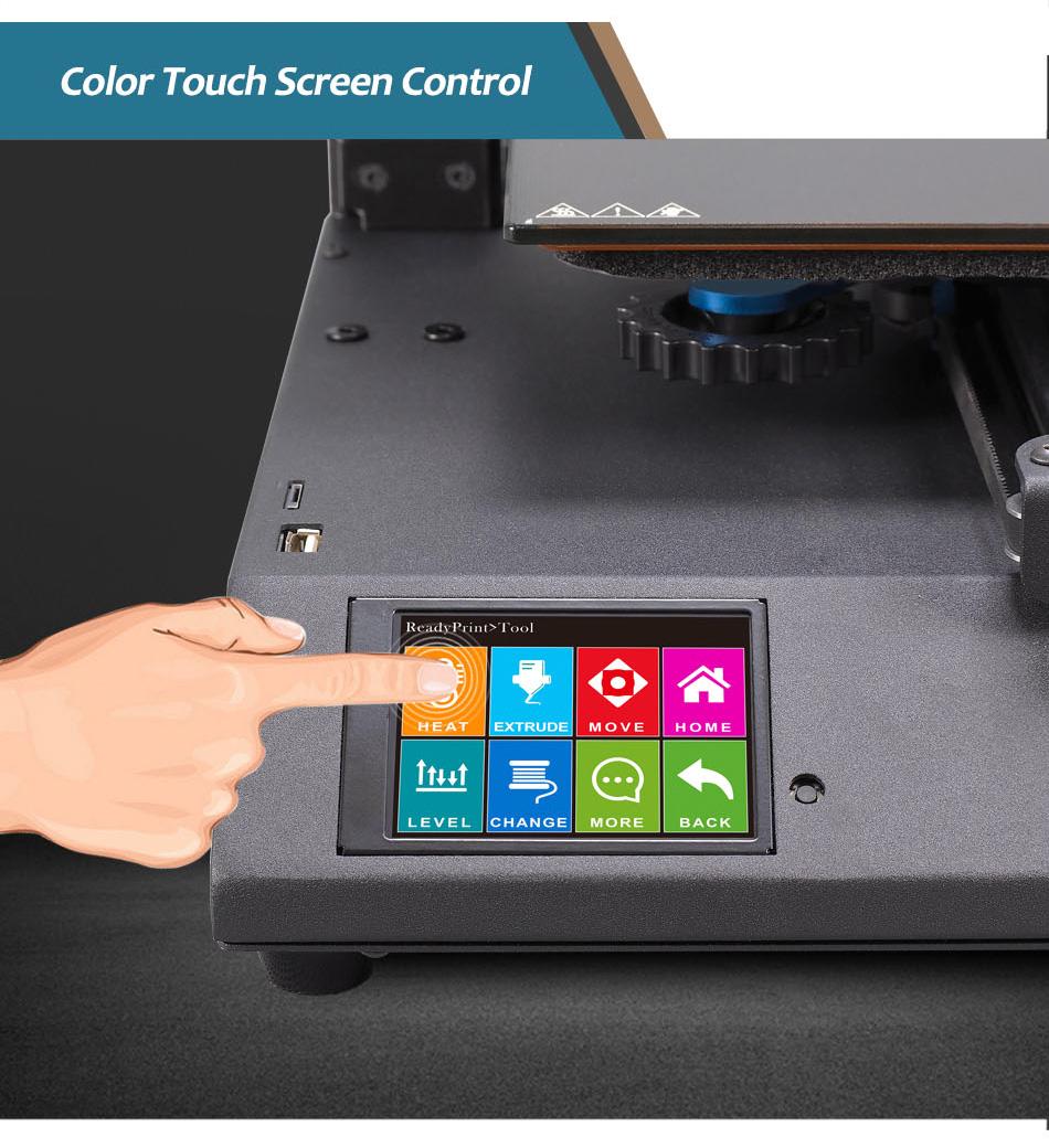 Artillery Genius Color Touch Screen