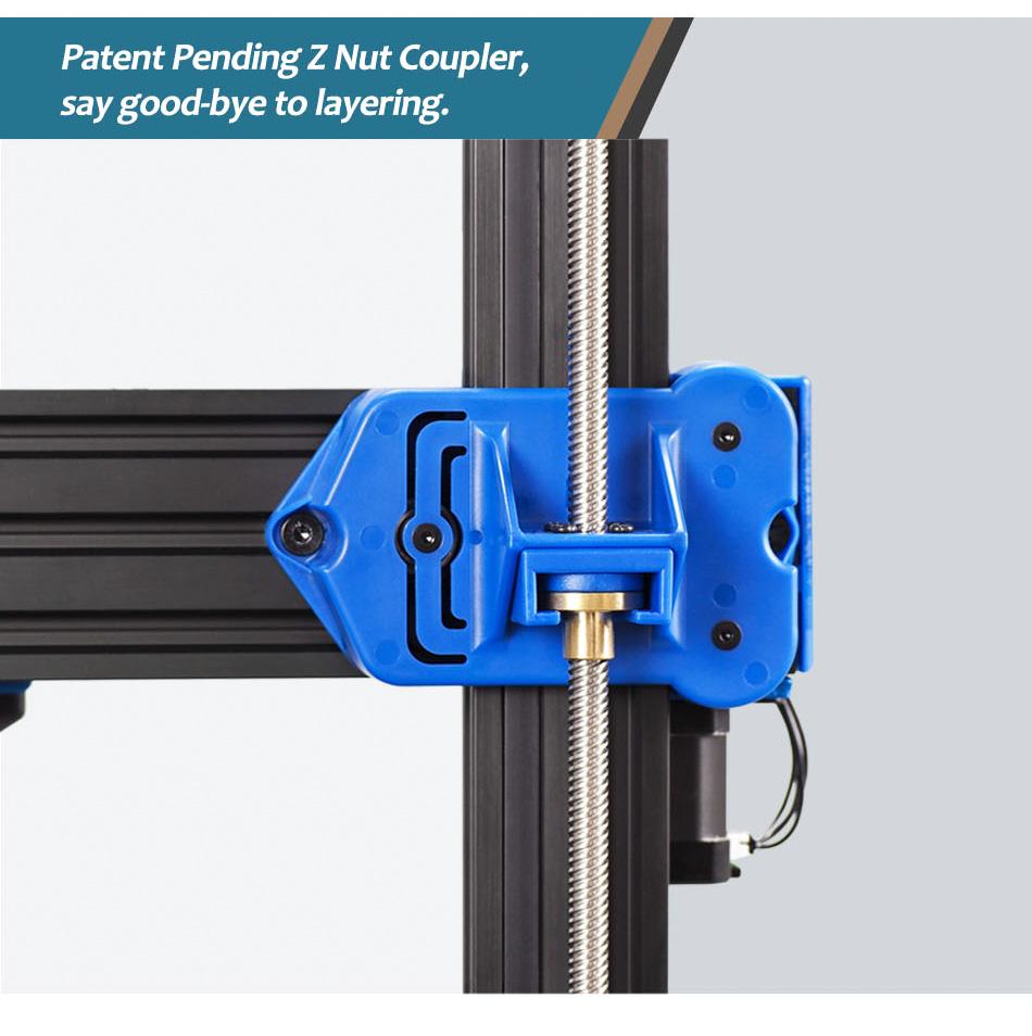 Artillery Genius Patent Pending Z Nut Coupler
