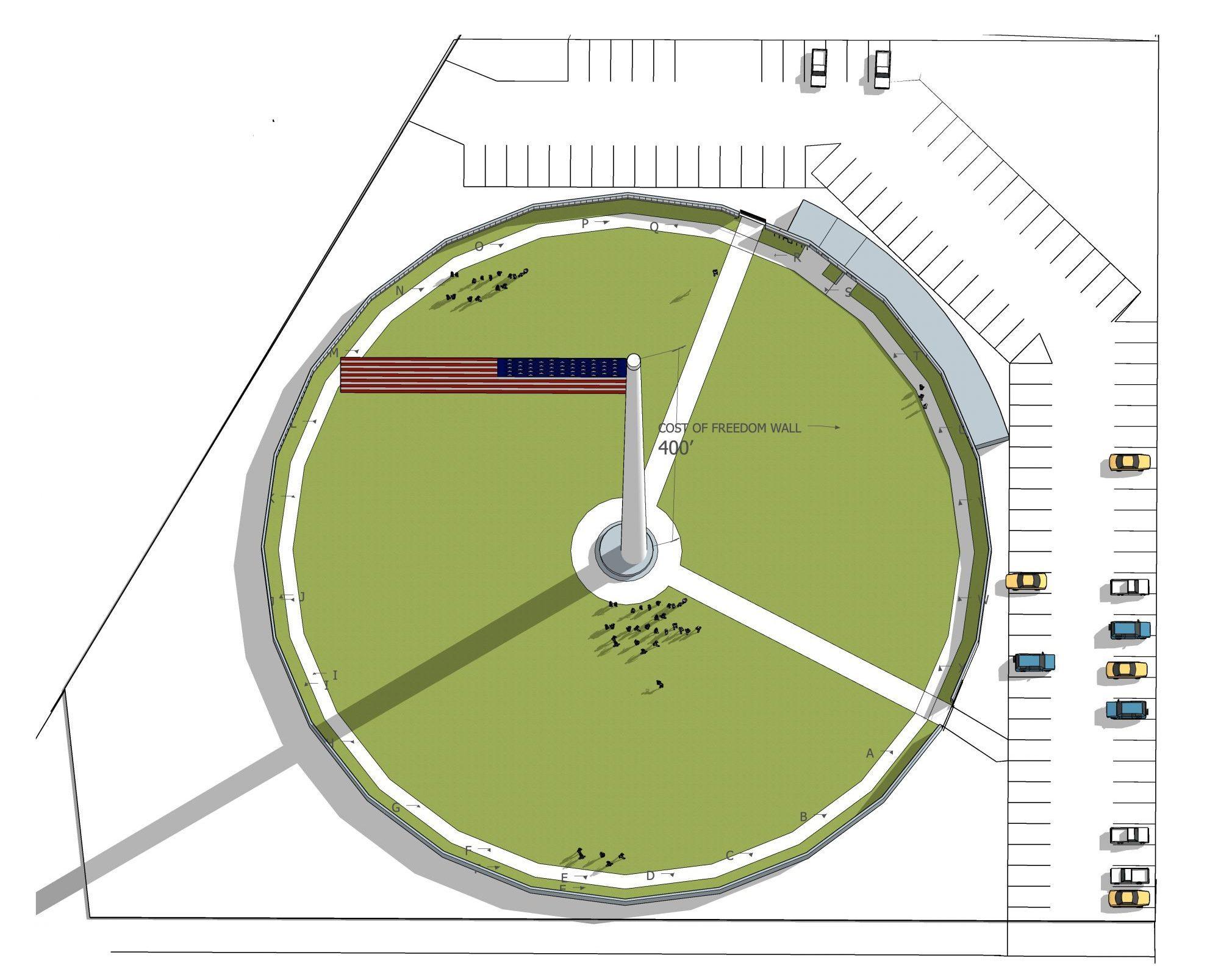 Inspiration Park Monument Overview