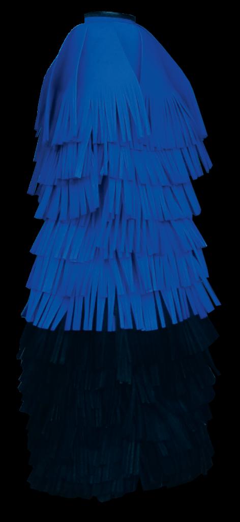 BLUE BLACK 45 degree