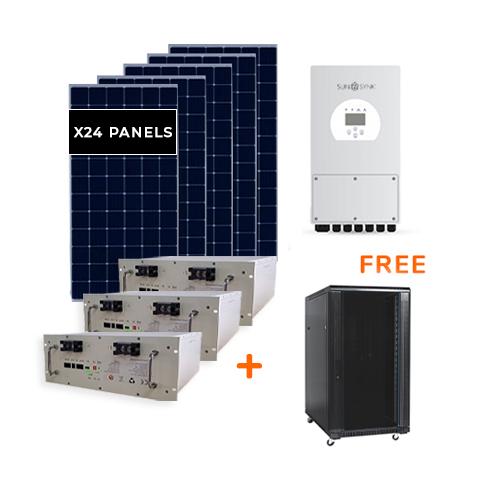 Affordable Power Solution Solar Power Kit