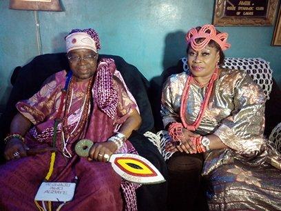 Aare Alasa of Osogbo Baba Ifagbenusola Atanda