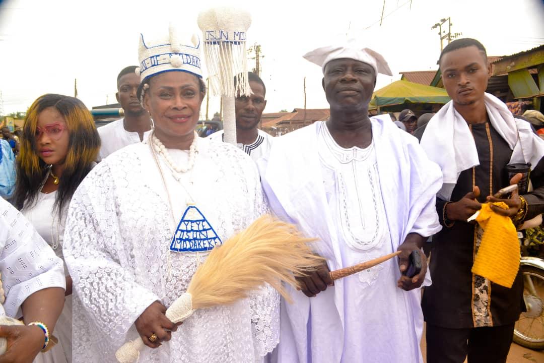 Yeye Osun and the Araba of Modakeke