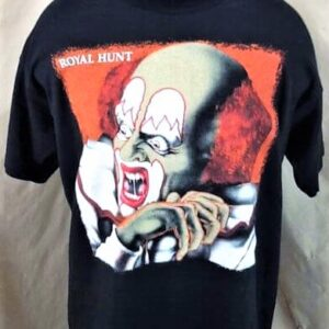 1993 Royal Hunt Clown In The Mirror (XL) Single Stitch Vintage Band T-Shirt (Front)