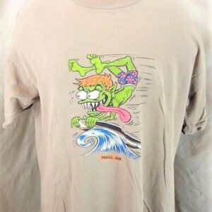 1996 Pearl Jam Gremmie Out of Control (XL) Vintage Giant Brand Rock T-Shirt (Front)