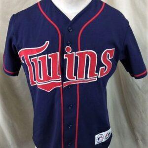 Majestic Minnesota Twins Lew Ford #20 (Small) MLB Stitched Baseball Jersey (Front)