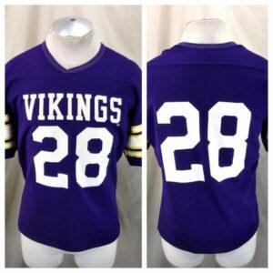Vintage 80's Rawlings Ahmad Rashad #28 (Med) Minnesota Vikings Football Jersey (Main)