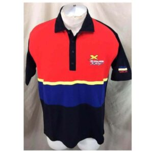 Vintage 90's Polaris Racing Genuine Race Gear (Large) Gear Heads Embroidered Polo Shirt (Main)