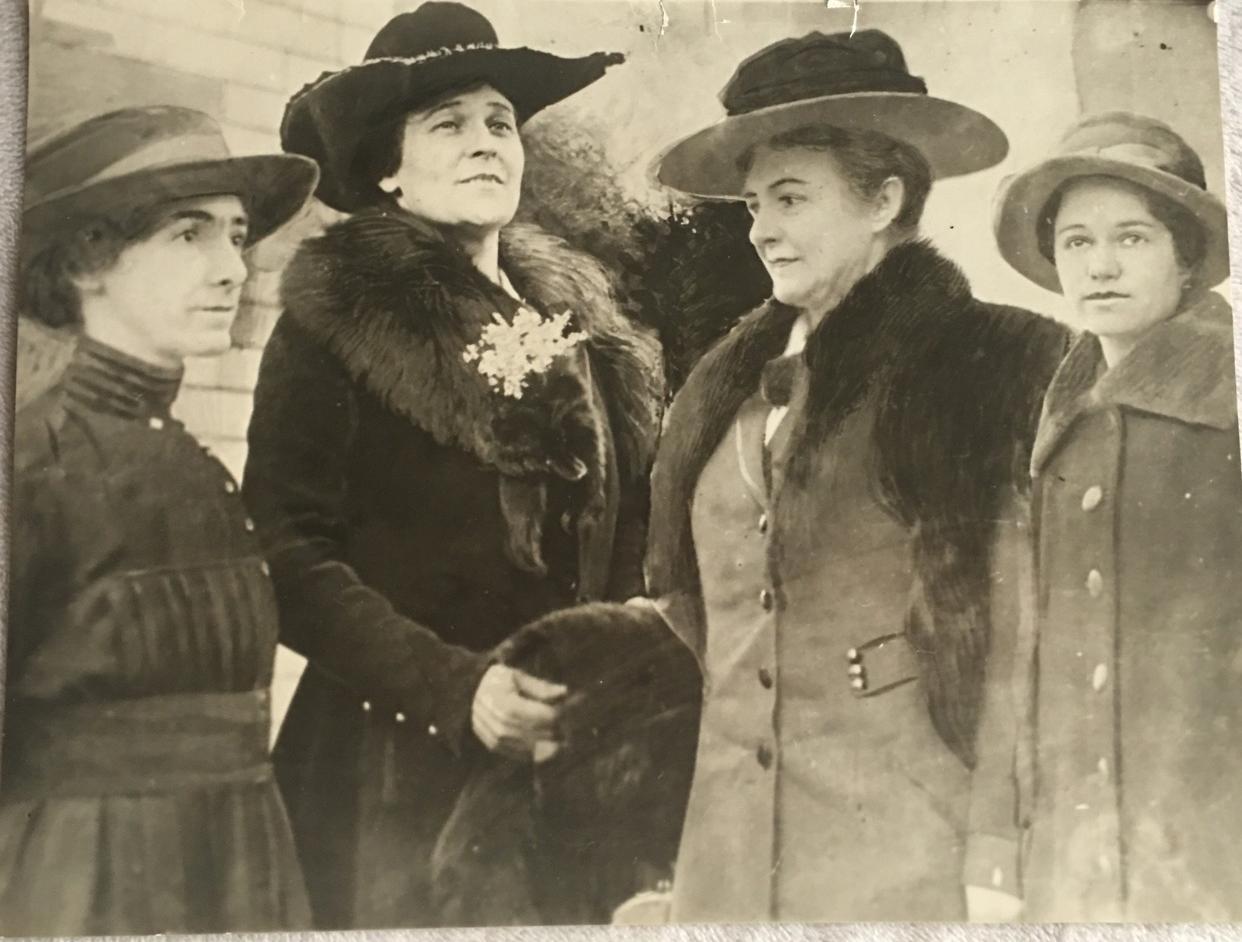 First Four Women in California Politics