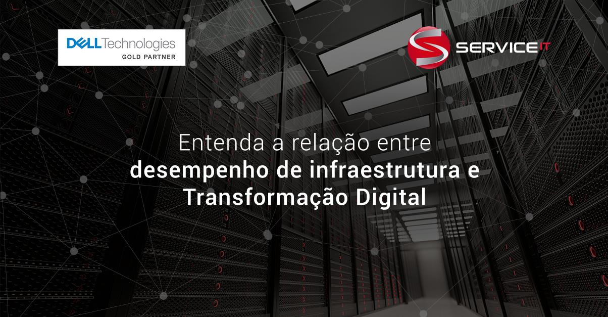 O desempenho da infraestrutura de TI é fundamental para a Transformação Digital das empresas