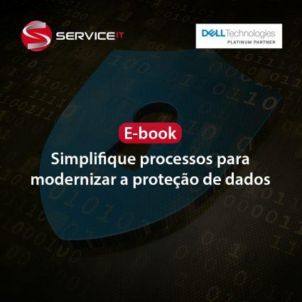 E-book: Simplifique processos para modernizar a proteção de dados