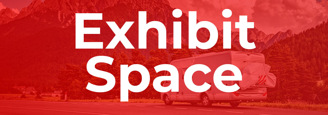 Book Exhibit Space Now!