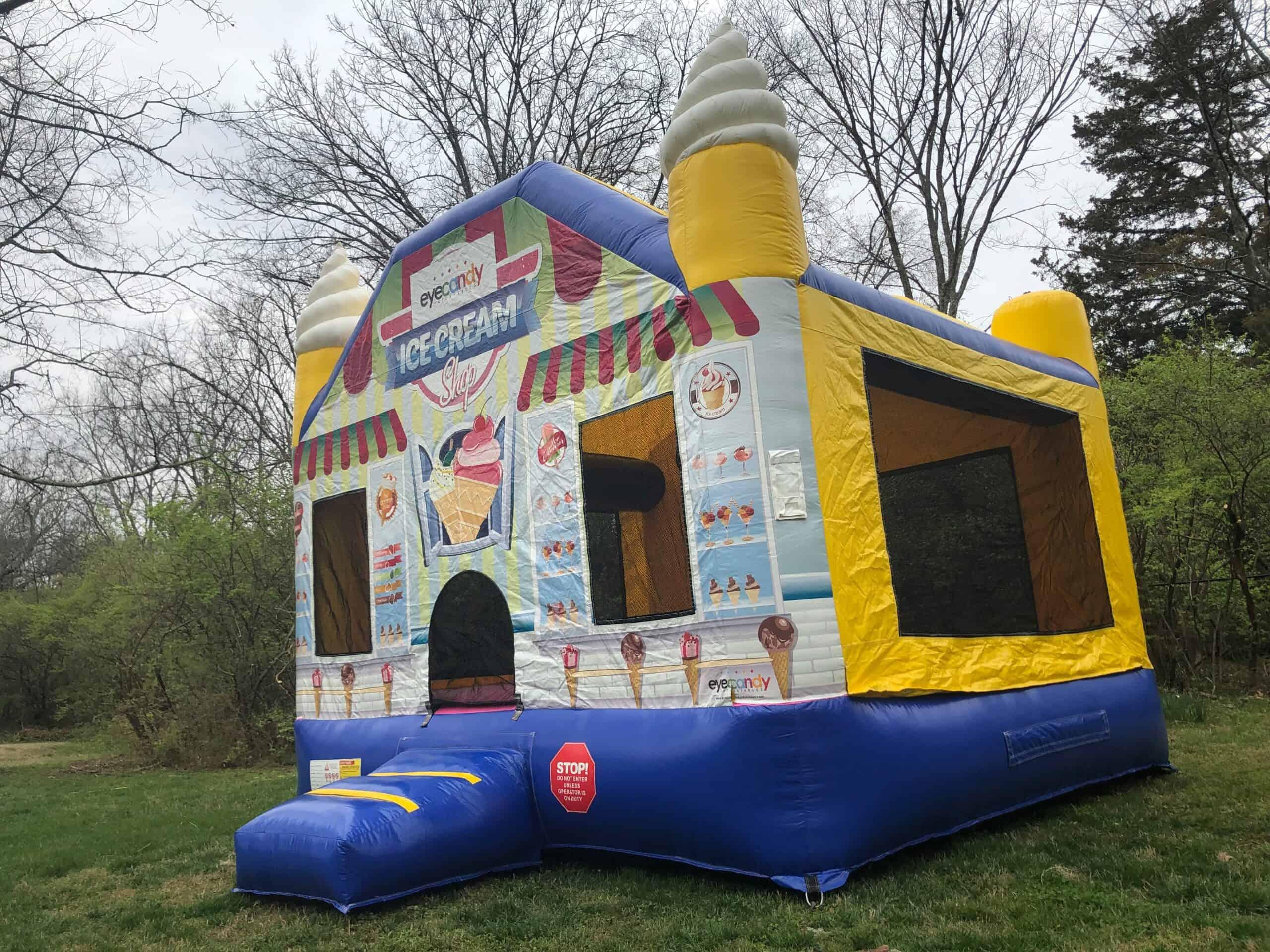 Ice Cream Shop Bounce House Rental in Nashville, TN 4
