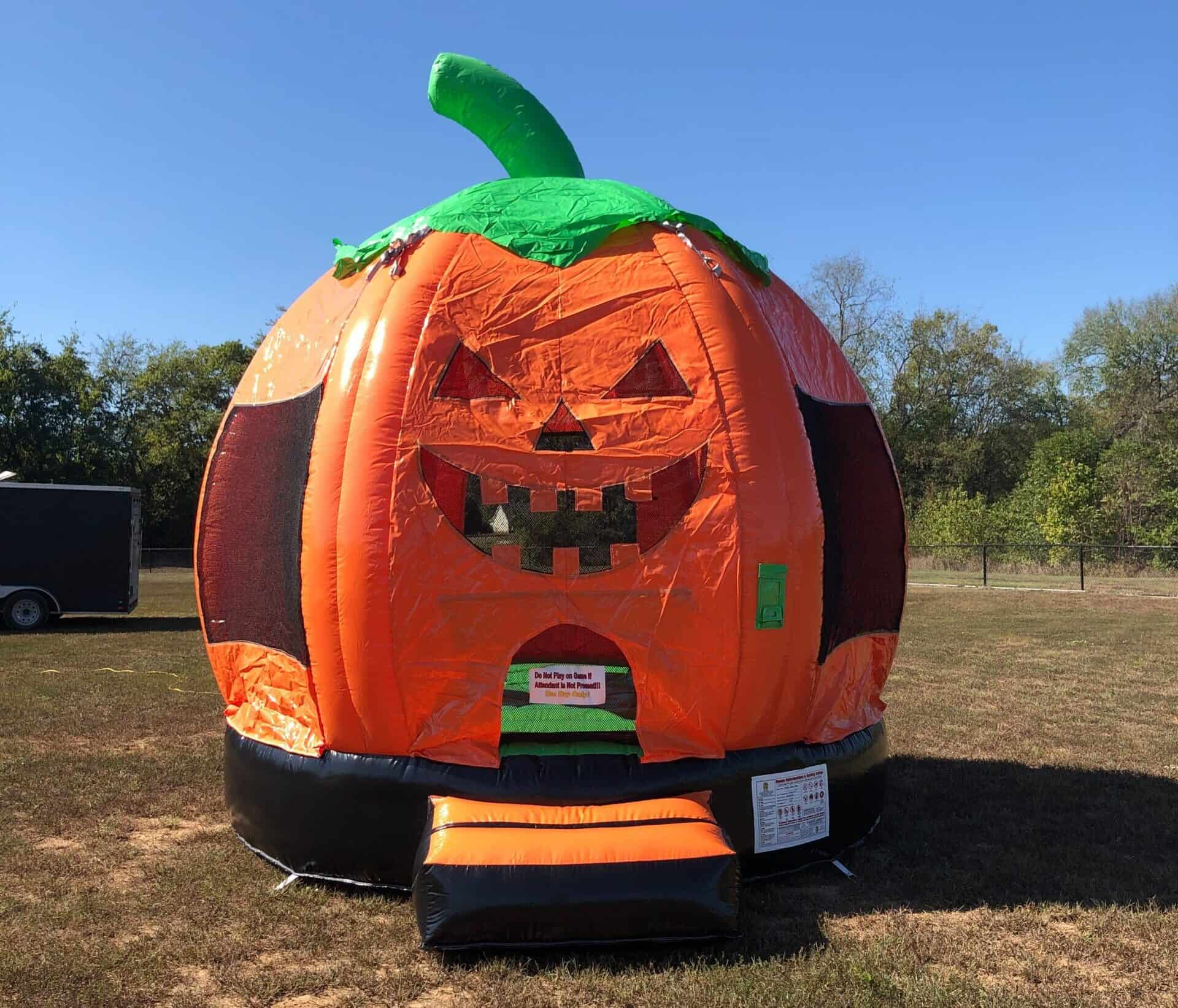 Pumpkin Bounce House Rental in Nashville, TN from It's Time 2 Bounce