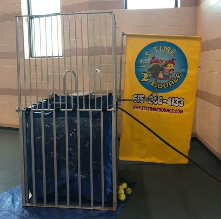 Dunk Tank Rental from It's Time 2 Bounce