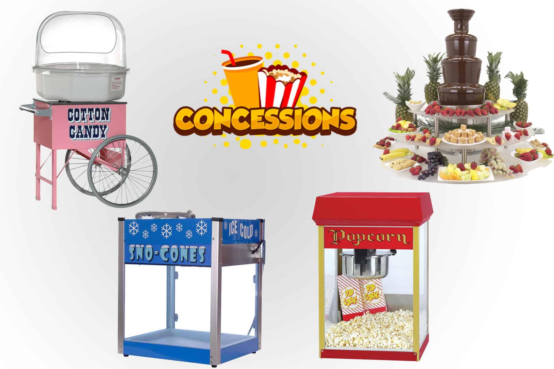 Concession Machine Rentals Nashville TN
