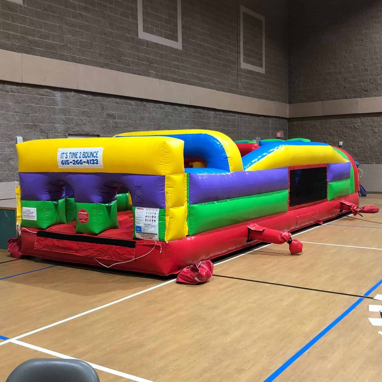 7 Element Obstacle Course Rental