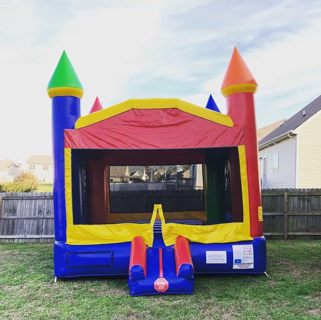 Rainbow Castle Bounce House Nashville