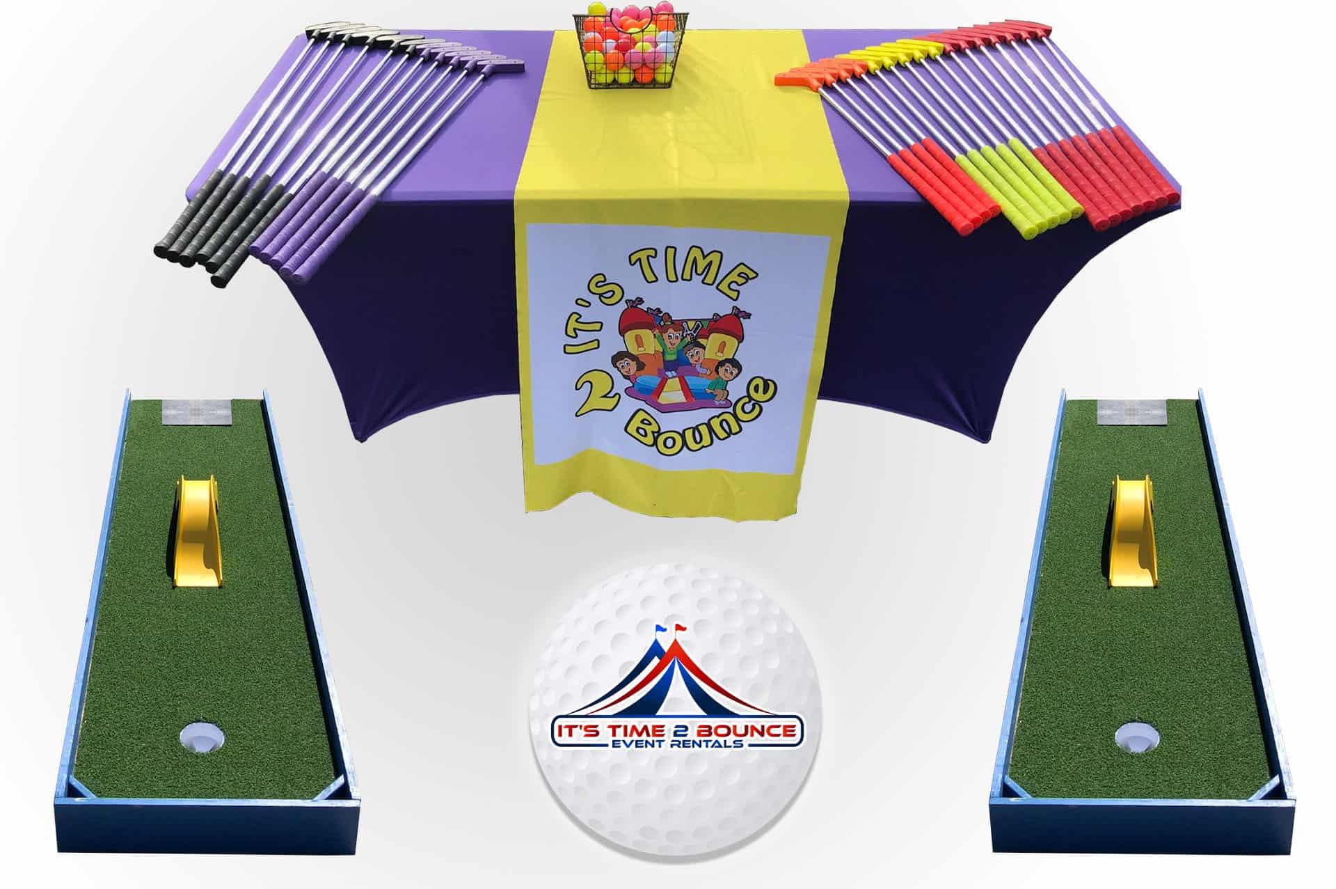 Portable Mini Golf Rentals Nashville TN