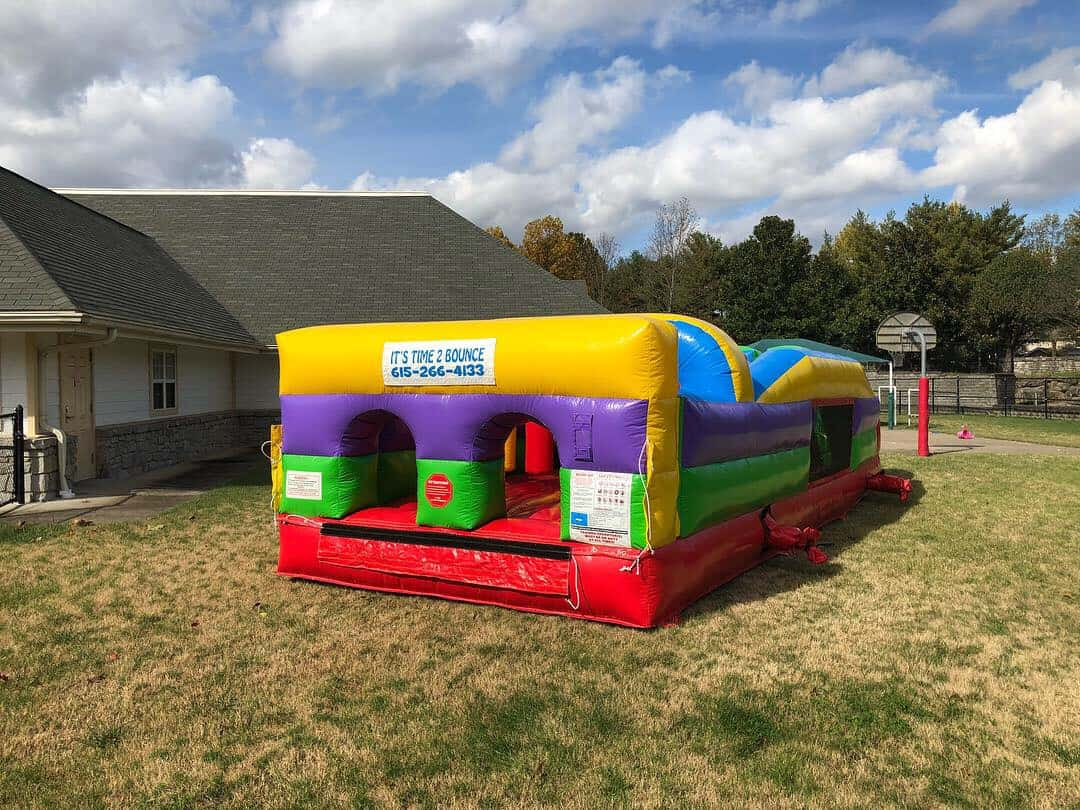 Obstacle Course Rental in Brentwood, TN