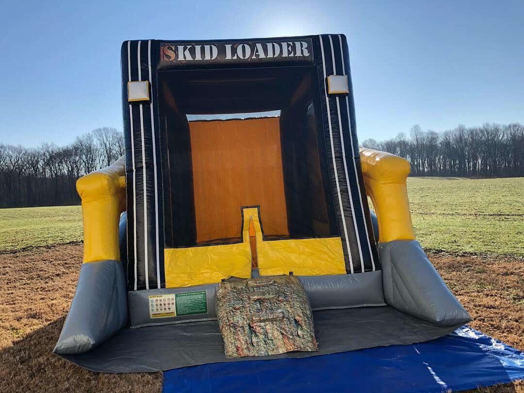 Skid Loader Bounce House Nashville