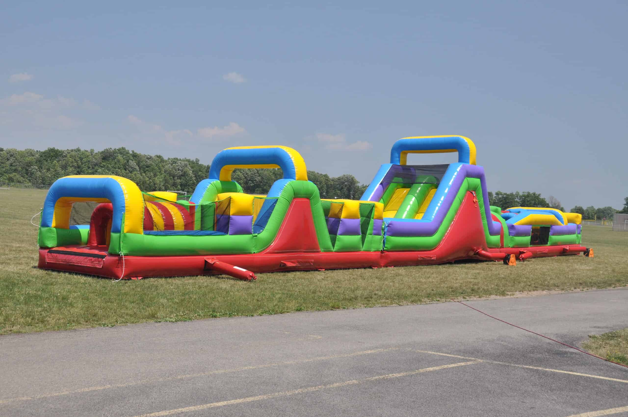 Big Obstacle Course Rental in Franklin Tennessee