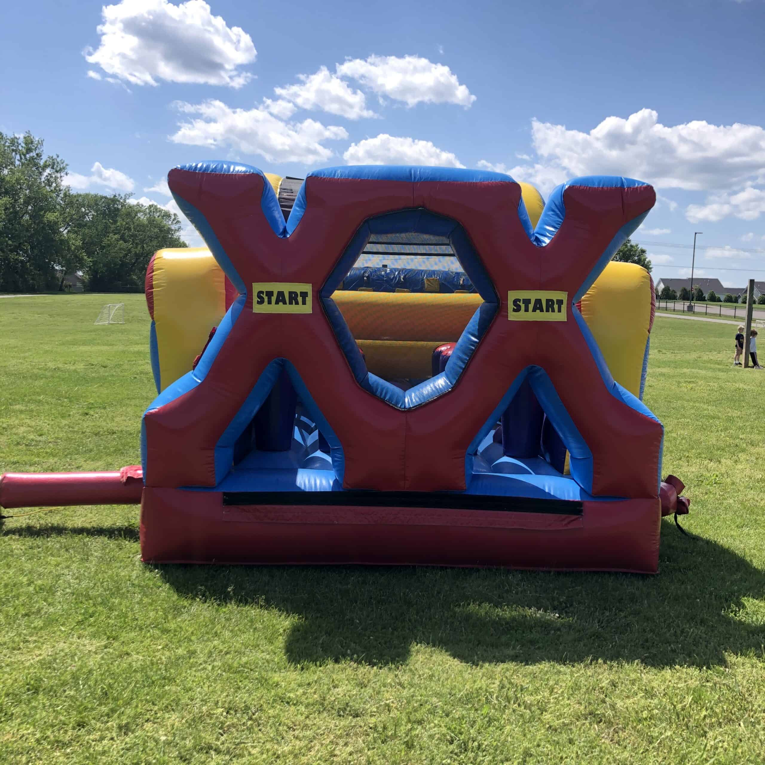 48' Extreme Obstacle Course Front Entrance