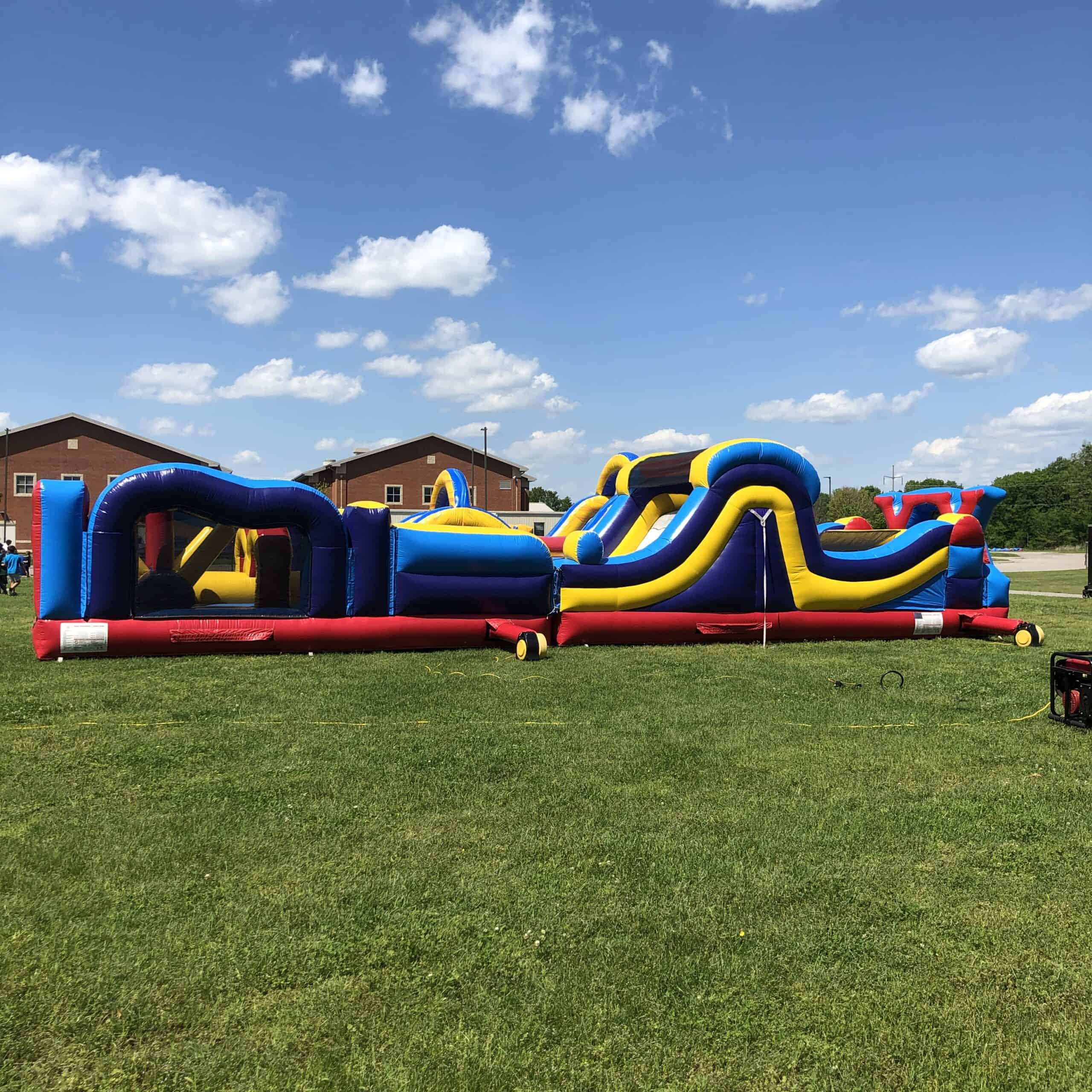48' Extreme Obstacle Course
