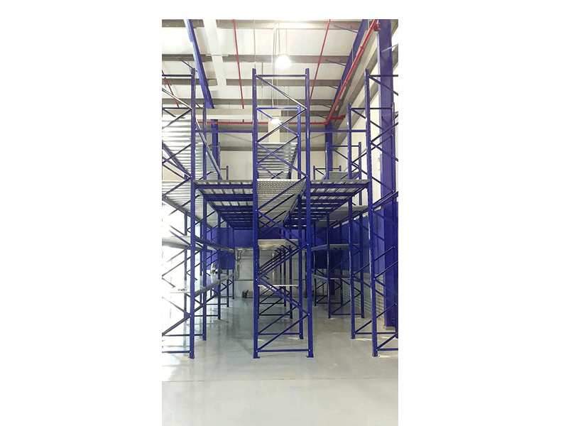 Multi tier racking system supply and install in UAE