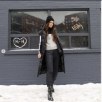 how to wear a vest this winter