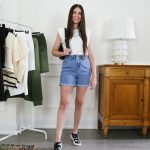 how to style jean shorts