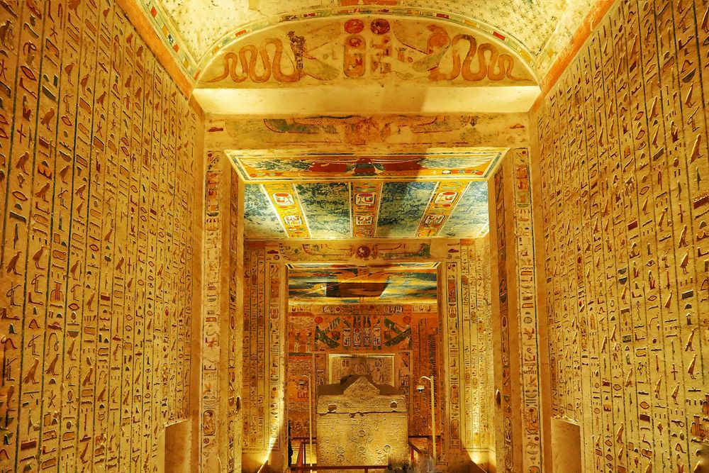 Disembarkation / Valley of the Kings / Hatshepsut Temple