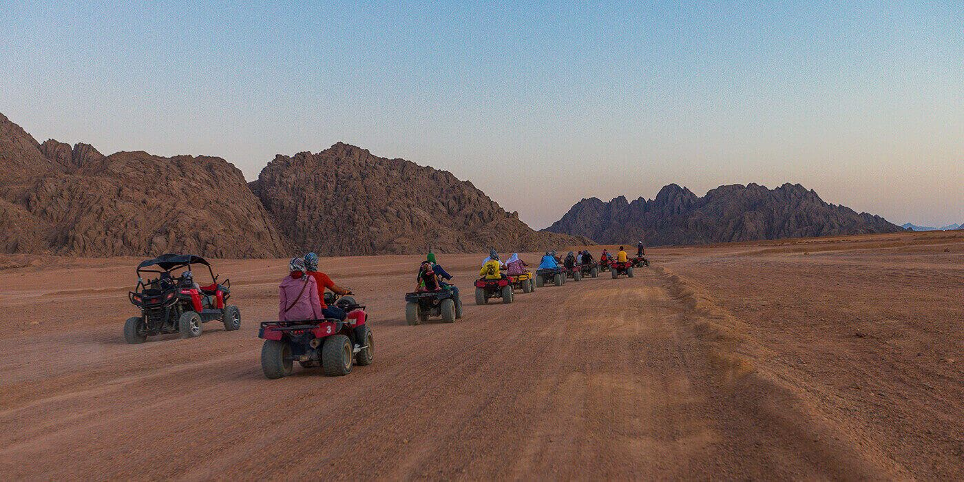 Quad biking with Camel ride and Bedouin dinner