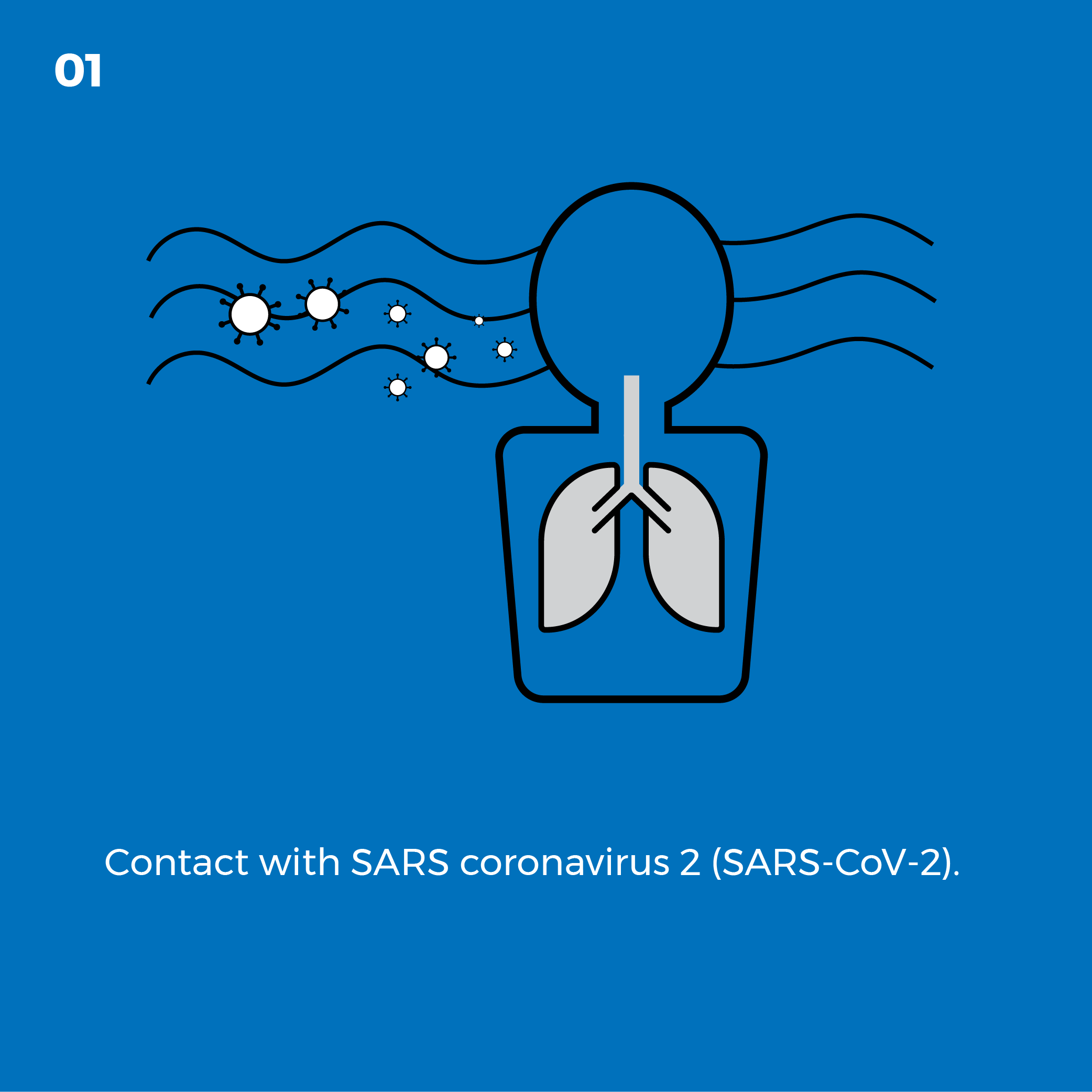 Contact with SARS coronavirus 2 (SARS-CoV-2)