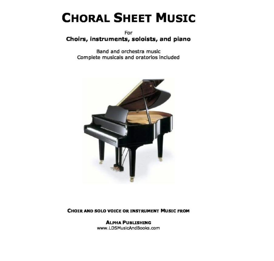 Choral Sheet Music